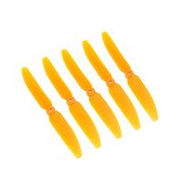 rc aircraft propeller - 5Pcs Orange Color Universal RC Plane Spare Part Propeller Prop for RC Airplane Aircraft