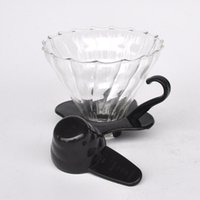 appliances coffee maker - PP glass hand punch punch holder Ice coffee coffee maker coffee appliance factory direct GV