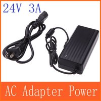 Wholesale car AC V to DC V A US EU adapter charger Power Supply Adapter for Led Strips Lights order lt no track