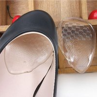 Wholesale New Soft Clear Foot Gel Silicone Cushion Soft Shoes Insoles Inserts Pads Beauty Foot Care