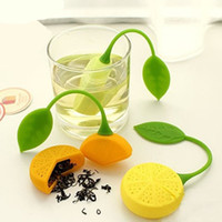 coffee filter - New Silicone Drinker Teapot Teacup Herb Tea Strainer Filter Infuser Lemon Bag Coffee tools