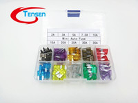 Wholesale 100Pcs MINI Blade Fuse Assortment Auto Car Motorcycle SUV FUSES Kit APM ATM A A A A A A A A A A BoX A5