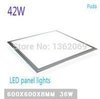 auto led driver - 5pcs Square Ultra thin led panel light x600 SMD2835 W x60 ceiling lights Aluminum focus led LED Driver