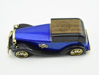 DHL LIBRE NUEVO llegan UN M8 viejo estilo del coche del altavoz mini altavoz / portátil de música con FM / USB / TFSlot mejor sonido