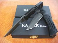 ka-bar - Pocket knife ka bar rescue knife blade EDC Tactical knife folding blade popular knife outdoor knife best christmas gift L