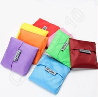 big baggu - 13 Color Big BAGGU Waterproof Reusable Shopping Bag Foldable Storage Eco Tote Pouch Bags Nylon Good Quality JJA21