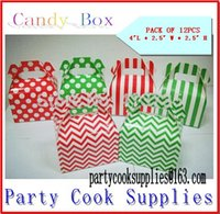 Cheap 10PACKS wedding decoration box birthday party decorations kids candy box party favor box, popcorn bag Paper Gift Bag