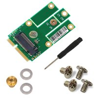 Wholesale SMAKN M NGFF to mini PCI E Adapter miniPCI express to M NGFF PCIe USB Adapter for Wifi Wlan Bluetooth cards