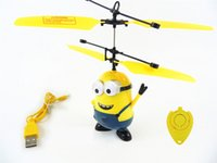 big outdoor rc helicopter - Remote Control Helicopter Toys Small Yellow People Remote Sensing Aircraft Dual mode Suspension Kids mini rc toys Indoor outdoor