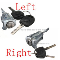barrel lock - 4 Keys Complete Door Barrel Lock Set Left Right For VW Mk4 Golf Bora FOX order lt no track