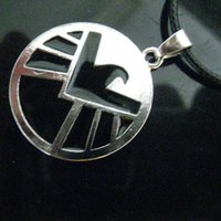 eagle pendant - Marvel Agents of SHIELD Necklace SHIELD Alloy Eagle Logo Pendant Necklaces The Avengers Movie Jewelry for men