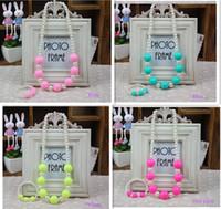 al por mayor pulseras collares de la joyería de los niños-Corea nueva joyería de color de la pulsera del collar del bebé del caramelo La accesorios de la cadena del suéter de la princesa de la joyería de la manera del bebé para Niños