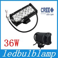 Wholesale led Waterproof Aluminium Inch W Cree LED Work Light Bar LM Spot Beam ALL Cars x4 Off Road Lamp hours Life