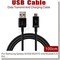 Wholesale 2015 lowest price For I S6 S5 S4 Micro USB Cable Note Cable Micro USB m Sync Data Cable Charging Charger Cable adapter Wire HTC