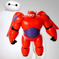 Wholesale Sample Order BIG HERO Action Figures Cartoon Movie Assemble Armor Robot Baymax Action Figures Accessories Toys S3050