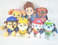 Wholesale Patrol Dog Toy Plush Toys styles Dolls Stuffed CM Animals Ryder Marshall Rubble Chase Rocky Zuma Baby Gift Kids toys