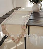 cotton table runner - Elegant linen wedding table runner quot x quot inch by HK post