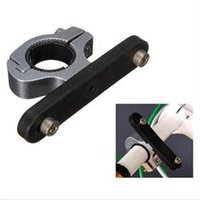 Wholesale New Novetly Bike Bicycle Cycling brace on Clamp Water Cup Bottle Cage Holder Handlebar mount