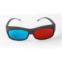 big plasma tv - Big Promotion New Plastic Framed Dimensional Anaglyph D Vision Glasses Plasma TV Movie