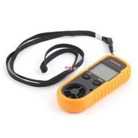 anemometer cfm - 1pc Digital LCD CFM CMM Thermo Anemometer Infrared Thermom
