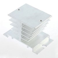 Wholesale 1pc Single Phase Solid State Relay SSR Aluminum Heat Sink Dissipation Radiator Brand New