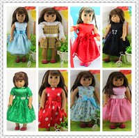 american girl doll - quot American girl doll clothes dress Give children the best Christmas gift B1