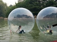 Wholesale Clear Inflatable Water Ball For Water Pool Games water toys water balls