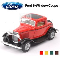 baby ford models - High Simulation Exquisite Baby Toys KiNSMART Car Styling Ford Window Coupe Model Alloy Sports Car Model Best Gifts