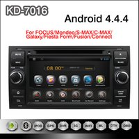 focus bluetooth gps - Pure Android inch Car DVD Player for Focus Mondeo S max C max Galaxy Fiesta Form Fusion Connect with GPS G Wifi Map Radio