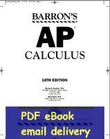 ap calculus - Barron s AP Calculus th edition by Shirley O Hockett David Bock Author
