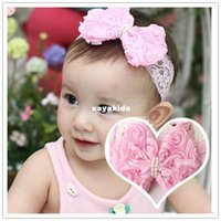 baby model photos - Xayakids Hairpin Korean rose bow with children s lovely baby photo studio headband models hair headdress Baby Headband
