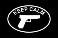 Wholesale Car Stickers Keep Calm Pro Gun Vinyl Decal Sticker Car Window