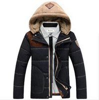 Wholesale Winter men s Sport Winter Jacket Cotton padded Down Brand Jacket Casual Slim Coat Jacket