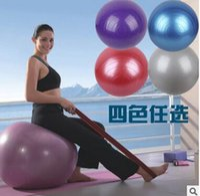 yoga ball exercise ball - Anti Burst Gym Exercise Yoga Fitness Ball Office Slimming Thin Body Weight Loss Goals Exercise Sport Pilates Ball