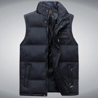 Wholesale Fall new arrival Autumn winter men s cotton down vest thickening thermal fashion casual casual size XL XL XL XL