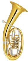 Wholesale Three Pistons Euphonium in Bb Flat with ABS case Brass wind Musical instruments Factory Supply OEM