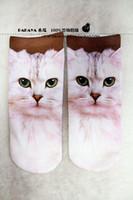 amo dresses - Princess sweet lolita socks Pill HARAJUKU print socks fashion socks cat purplish red cat amo spank lolita romper dress shoes fit