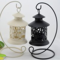 metal candle stand - New Romantic Wedding Iron Lantern Candle Holder For Wedding Favors Gift Home Decorations Supplies