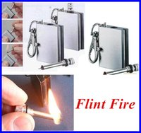 Wholesale Flint Fire Starter Matches for kitchen Portable Bottle Shaped Survival Tool for outdoor no oil OUT013