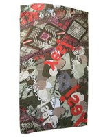 Wholesale 2016 New Women Fashion Spain Brand Des Flowers Scarf super large beautiful brand scarf women pashmina