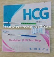 Wholesale CE ISO FDA Approved HCG Urine Pregnancy Test Strips LH Ovulation Test Strips Fast Rapid Test