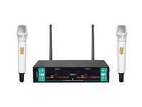 Wholesale high quality UHF wireless microphone system with Mics party stage meeting