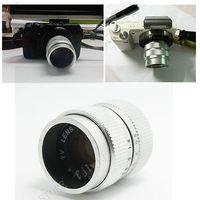 camera lens minolta - Fujian mm f CCTV cine lens for M4 MFT Mount Camera bundle silver