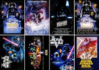 Wholesale EIGHT Postcard Greeting Cards set Movie Series Star Wars