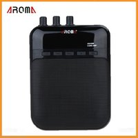 ag parts - Aroma AG M W Portable Guitar Amp Recorder Speaker TF Card Slot Compact High Quality Guitar Parts Accessories