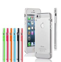 iphone 4 clear case - For iPhone S Plus Ultrathin Transparent Crystal Clear Cover Case For iPhone S S Galaxy S6 edge Note
