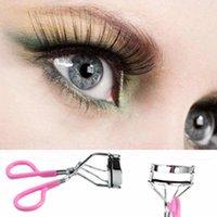 best eye curlers - Best Pro Handle Eye Curling Eyelash Curler Clip Beauty Makeup Tool Pink