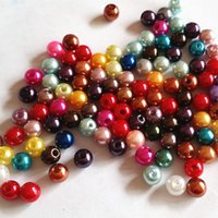 Wholesale 1000pcs mm imitated Pearl round beads Loose pearl beads