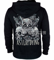 axe band - As I Lay Dying Rock Band Cotton Sweatshirt hoodies fleece jacket high quality brand shirt punk death heavy metal Skull XXXL axe