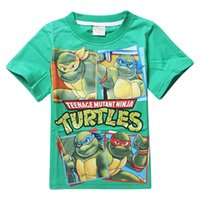 teenage fashion - Retails New teenage mutant ninja turtles children boy t shirts Y for summer cartoon fashion tops tee children kids boys t shirts